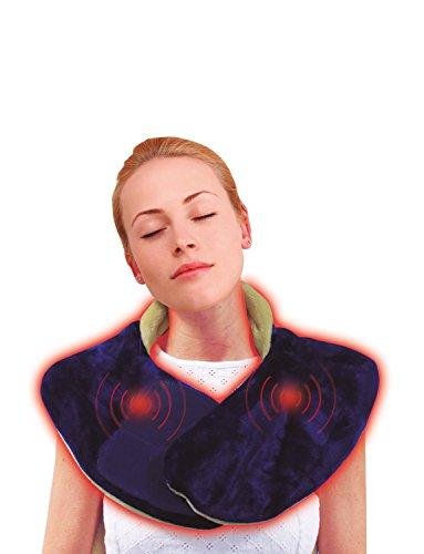Backnetix Massagegerät mit Wärmefunktion S/M blau