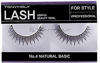 Tonymoly No. 04 Natural Basic Lash Styling Eyelashes, 453.59g