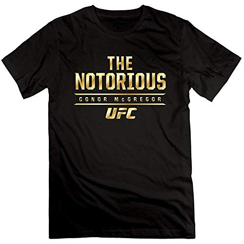 Mens Conor McGregor Black Haymaker Tri-Blend T Shirt 100% Cotton S