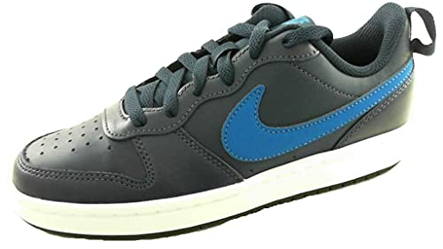Nike Court Borough Low 2, Scarpe da Basket, Midnight Navy/Imperial Blue-Black, 36.5 EU