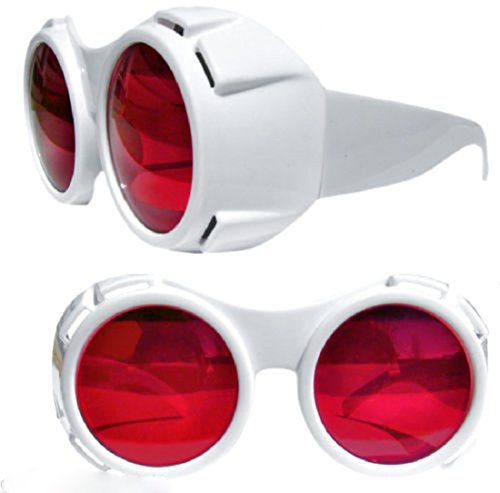 Getza Willy Wonka TV Room Style Goggles Glasses Chocolate Factory Hyper Vision Depp