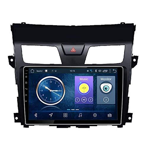 WHL.HH Radio Estéreo Auto Multimedia Android 10.0 GPS Navegación para Niss an Teana 2013-2016 Doble DIN 6.2' Auto Auto Auto Jugar / 4G WiFi/Dab/SWC