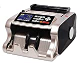 Bill Counter Mix Note Counting Machine Indian Currency Cash Counting Machine/Mix Value Currency Counting Machine | Latest Mix Note Money Counter | 1 Year Warranty (Colour: Golden & Silver)