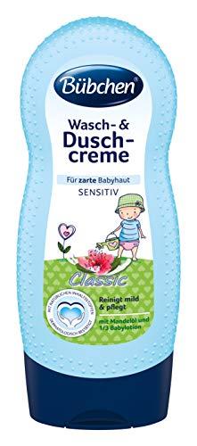 Bübchen Wasch- & Duschcreme für zarte Babyhaut Sensitiv classic, 3 x 230ml