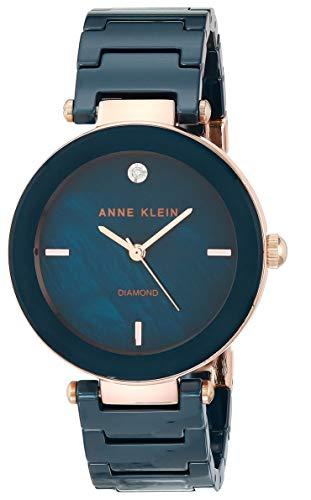 Anne Klein Dress Watch (Model: AK/1018RGNV)