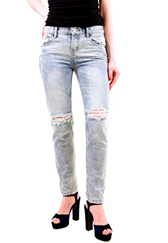 One Teaspoon Donna Blu Blossom Awesome Baggies Jeans Dimensione 26