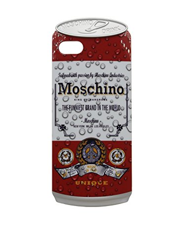 Love Moschino Funda iPhone 5/5S Rojo/Blanco