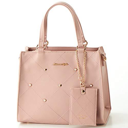 リズリサ(バッグ&ウォレット)(LIZ LISA Bag&Wallet) パスケース付き ジェム 2Way 手提げ【ピンク/**】