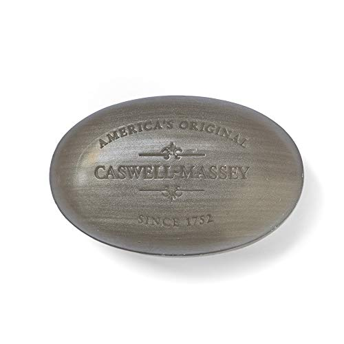 Caswell-Massey Triple Milled Luxury Bath Soap Centuries Sandalwood Single Bar Soap, 5.8 Oz
