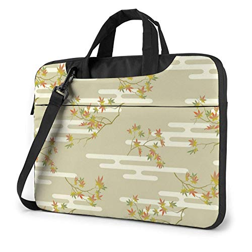 XCNGG Computertasche Umhängetasche Laptop Bag, Honeybee Pattern Business Briefcase Protective Bag Cover for Ultrabook, MacBook, Asus, Samsung, Sony, Notebook 15.6 inch
