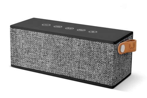 Fresh 'n Rebel Rockbox Brick - Altavoz portátil estéreo (12 W), Color Negro