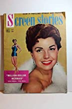 Screen Stories Magazine; November 1952; MILLION-DOLLAR MERMAID, Esther Williams on Cover Articles: MONKEY BUSINESS, Cary Grant, Ginger Rogers; SNOWS of KILIMANJARO, Gregory Peck, Susan Hayward