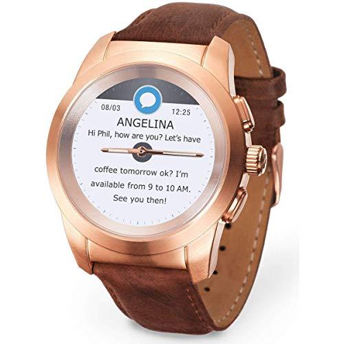MyKronoz Smartwatch Gold/Rosa