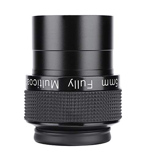 Oculares telescópicos, lentes de telescopio de diseño negro ultra gran angular para exteriores