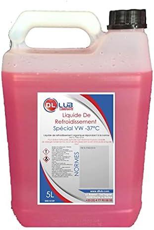 DLLUBLiquide de refroidissement rose 37 sp 233;cial VW5 litres