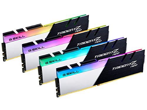 G.Skill DDR4メモリ TridentZ Neoシリーズ DDR4-3600 128GBKit(32GB×4枚組)国内正規品 特典ステッカー付...