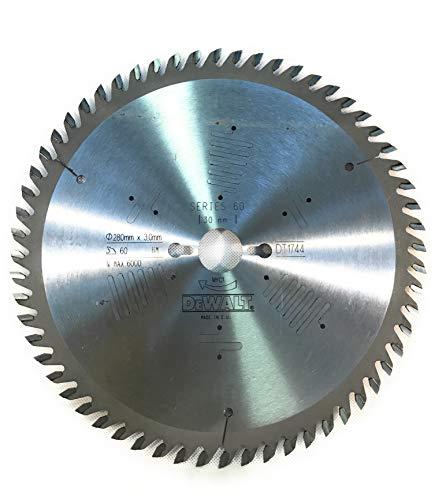 DeWalt DT1744-QZ Series 60 - Lama universale per sega Ø 280 x 3 x 30 mm, Z = 60HM POS10, ATB