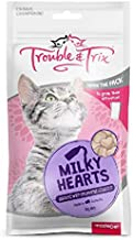 Trouble and Trix Milky Hearts Cat Treat 70 g
