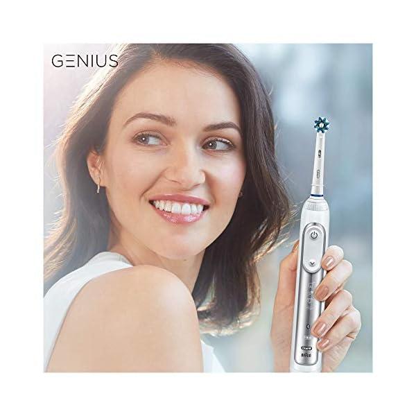 Oral-B-Genius-8900-Cepillo-de-dientes-elctrico-con-Tecnologa-de-Braun-2-unidades