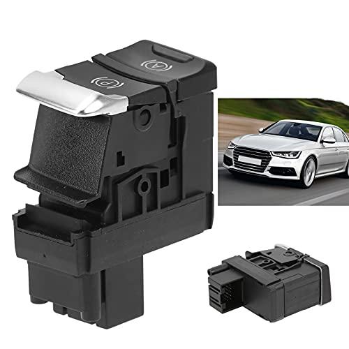 Jopwkuin Interruptor de Control del Freno de estacionamiento, reemplazo Directo del Interruptor de Freno de estacionamiento de Material ABS para A4 / S4 Avant 2008-2015