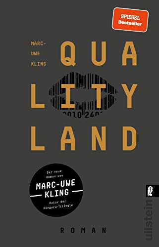 Buchseite und Rezensionen zu 'QualityLand: Roman (dunkle Edition)' von Marc-Uwe Kling