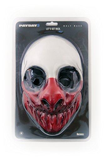 Payday 2: Wolf Face Mask (Maschera)