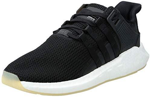 adidas Herren EQT Support 93/17 Sneaker, Schwarz (Negbas/Negbas/Ftwbla), 41 1/3 EU