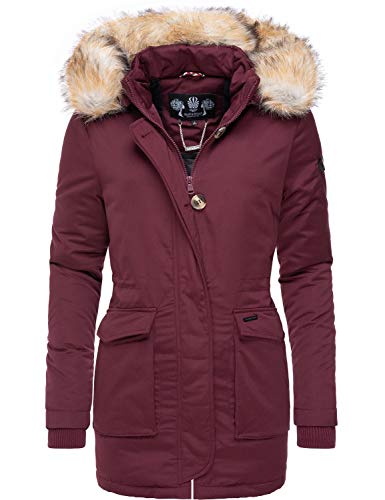 Navahoo Schneeengel Abrigo de Invierno Parka para Mujer 13 Colores XS-XXL