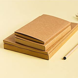 Brown Kraft Cover Sketchbook / Journal / Diary / Note Book With Blank Kraft Paper (16K (116 pages))