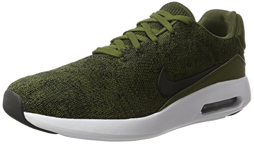Nike Herren Air Max Modern Flyknit Sneakers, Grün (Rough Green/Black/Black/White), 42 EU