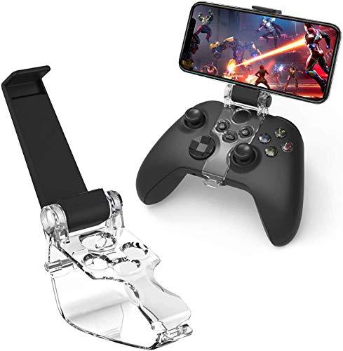 Clip para Mando Xbox Soporte de Teléfono Clip Ajustable de Juego Compatible con...