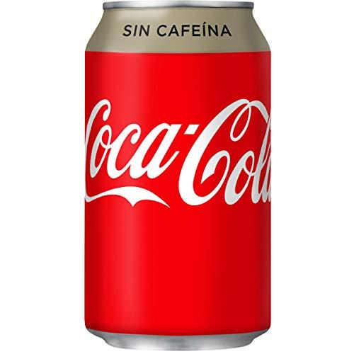 Coca-Cola – Coca-Cola zonder koffie – 33 cl – [Set di 8]