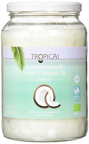 Tropicai - Reines Fair-Trade Bio-Kokosöl - Philippinen - 1.42 L
