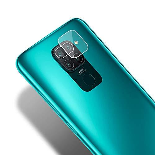 KONEE Protector de Cámara Trasera Lente Compatible con Xiaomi Redmi Note 9 / Redmi 10X 4G, 【2 Piezas】 [ Alta Definición, Anti-Burbuja, Anti-Scratch ] Cristal Vidrio Templado para Xiaomi Redmi Note 9