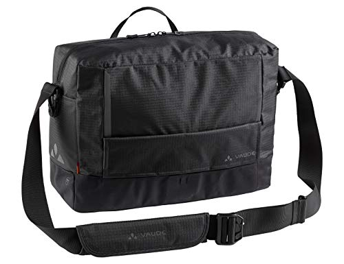 Learn More About VAUDE Unisex's Cyclist Messenger Waxed L Backpack, Black, One Size