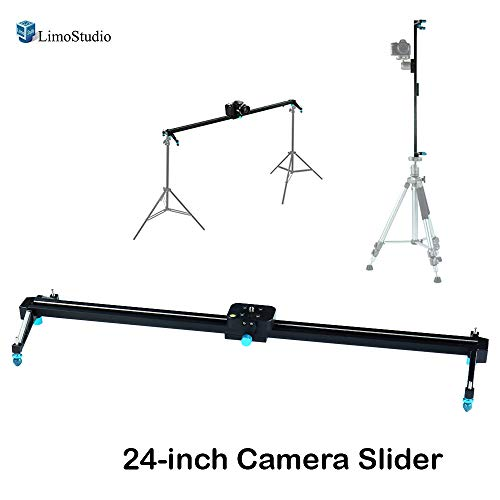 """LimoStudio Camera & Camcoder Slider 67"""" Long 180 Degree 1/2 Round Circle Dolly Smooth Track for Video & Image Shoot, Photography Studio, AGG1837"""