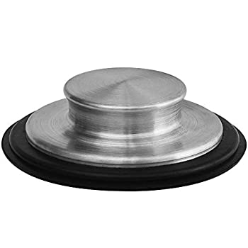 3 3/8 inch  8.57Cm  - Kitchen Sink Stopper Stainless Steel Garbage Disposal Plug Fits Standard Kitchen Drain size of 3 1/2 Inch  3.5 Inch  Diameter