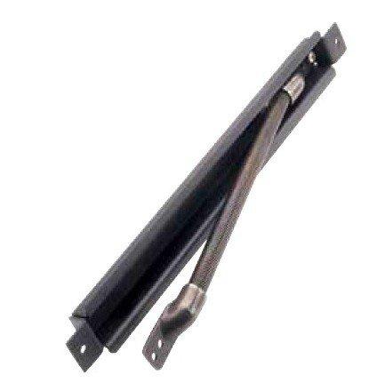 Pasacables para puertas blindadas - de acero lacado negro