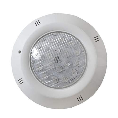 PETSOLA Luces de Piscina Led Sin Instalación, Luz de Piscina Resistente al Agua IP68 - Blanco Cálido - Blanca cálida 9W