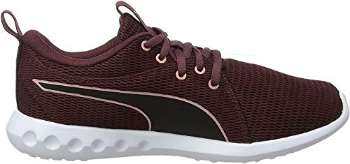 Puma Damen Carson 2 New Core WN's Laufschuhe, Vineyard Wine Black-Bridal Rose, 37 EU