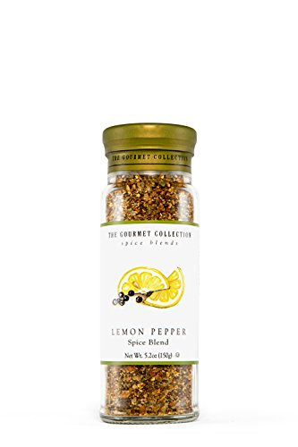 The Gourmet Collection Lemon Pepper Spice Blend 5.6oz by Gourmet Collection