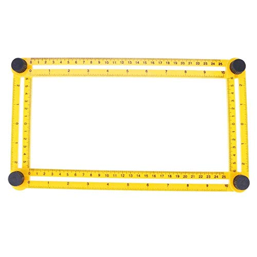 Westsell All Angles Multi-Angle Ruler Template Tool Measures All Angles Forms for Measurement Outdoor Tools Flexible Easy Tool