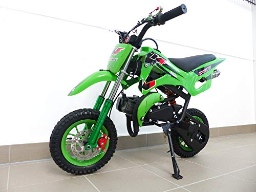 Rv-Racing Pocketbike Dirtbike Cross Bike Crossbike Kindercross Pocketcross Grün