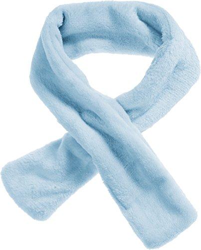 Schnizler Unisex Baby Kuschel-Fleece-Schal Steckschal, Blau (Bleu 17), One Size