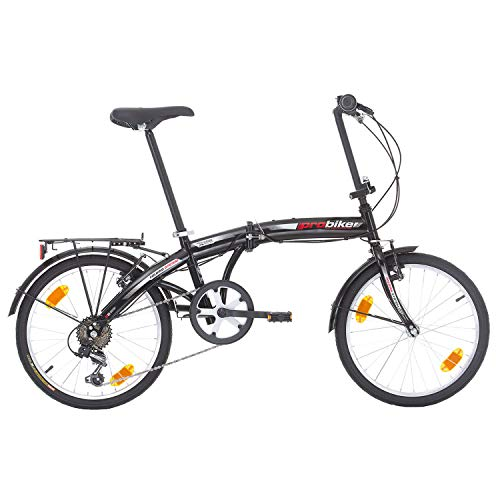 Multibrand PROBIKE Folding 20 Zoll Klapprad, Faltrad, Shimano 6 Gang, Herren-Fahrrad & Jungen-Fahrrad, geeignet ab 155 cm - 185 cm - 3