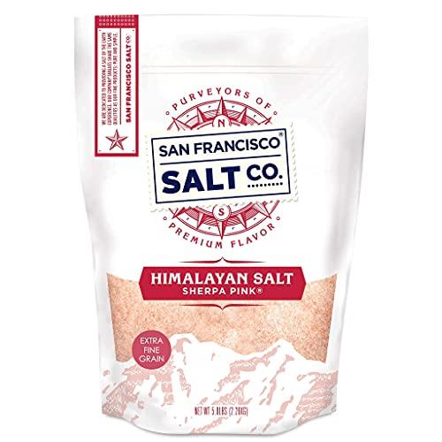 Sherpa Pink Himalayan Salt - 5 lbs. Extra-Fine Grain