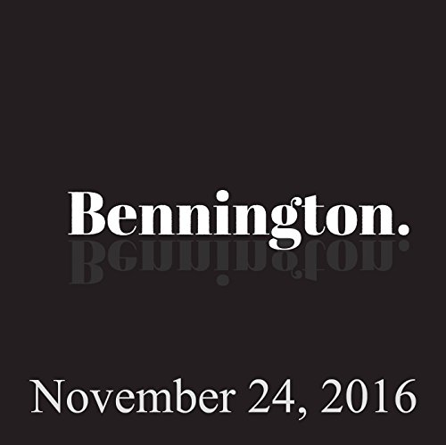 Bennington, November 24, 2016 cover art