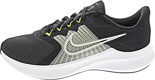 Nike Downshifter 11, Zapatillas de Correr Hombre, Multicolor (Black/Photon Dust-Volt-White), 42 EU