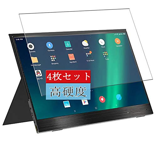 4枚 Sukix フィルム 、 BlitzWolf BW-PCM2 13.3 Inch ディスプレイ モニター 向けの 液晶保護フィルム 保護フィルム シート シール(非 ガラスフィルム 強化ガラス ガラス )