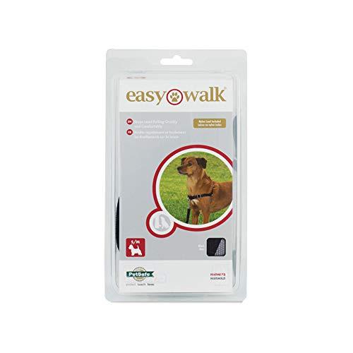 PetSafe Easy Walk Harness for Dogs, Small/Medium, Black/Beige , 1.8 m L